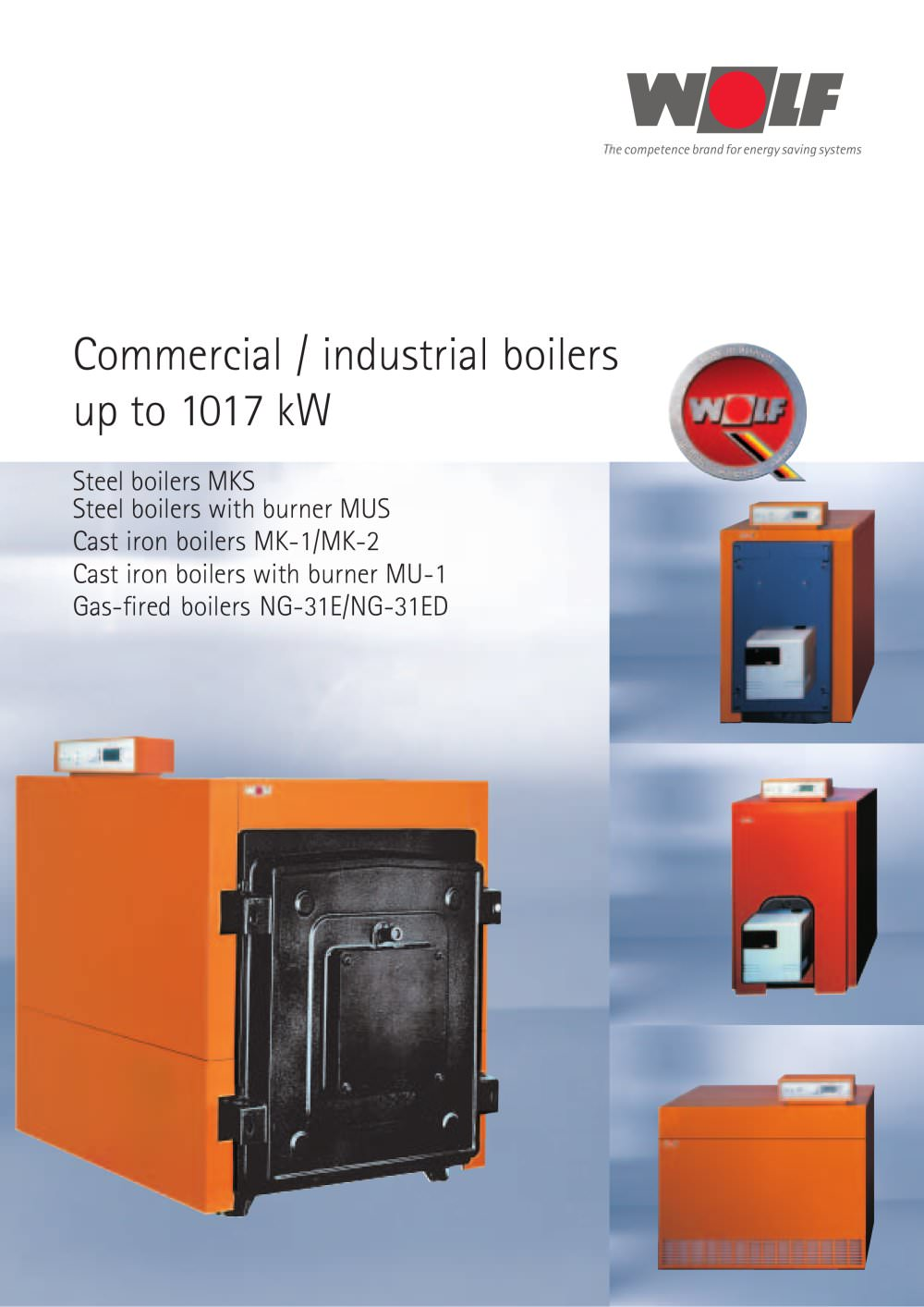 Commercial / industrial boilers - WOLF - PDF Catalogues ...