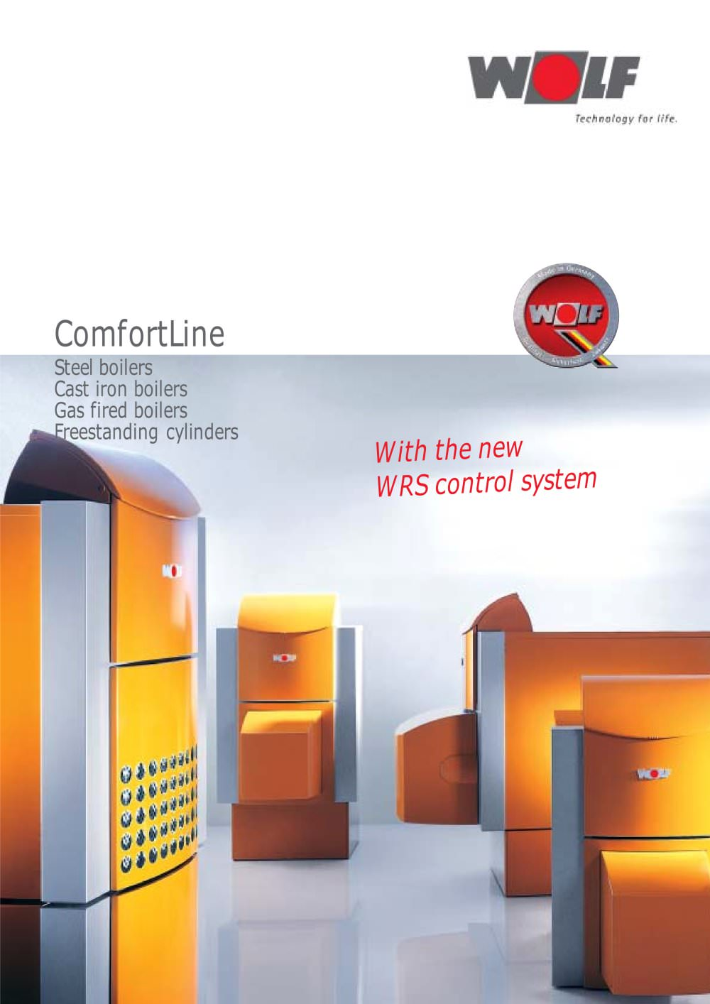 Oil/Gas boilers ComfortLine - WOLF - PDF Catalogues | Documentation ...