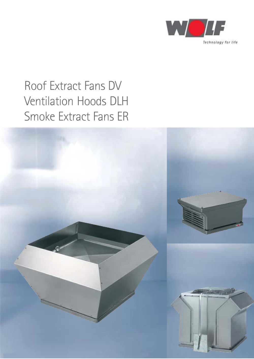 Roof Extract Fans / Ventilation Hoods - WOLF - PDF Catalogues ...