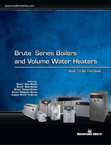 Brute: Series Boilers - Bradford White Water Heaters - PDF ...