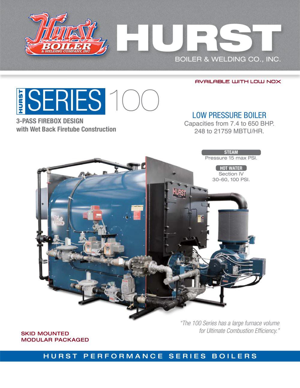 Series 100 - Hurst Boiler & Welding Co., Inc. - PDF Catalogues ...