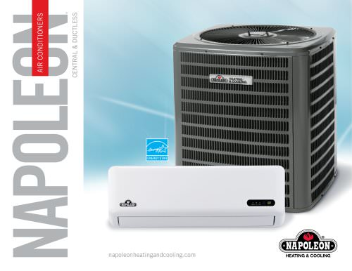 Cooling series central and ductless