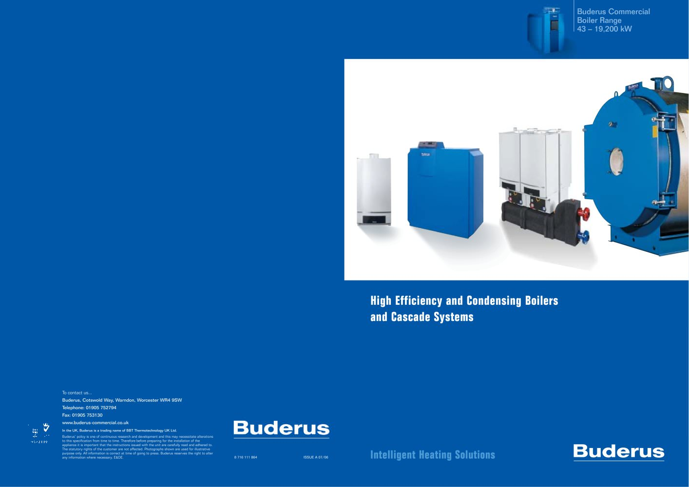 High Efficiency and Condensing Boilers - Buderus - PDF Catalogues ...