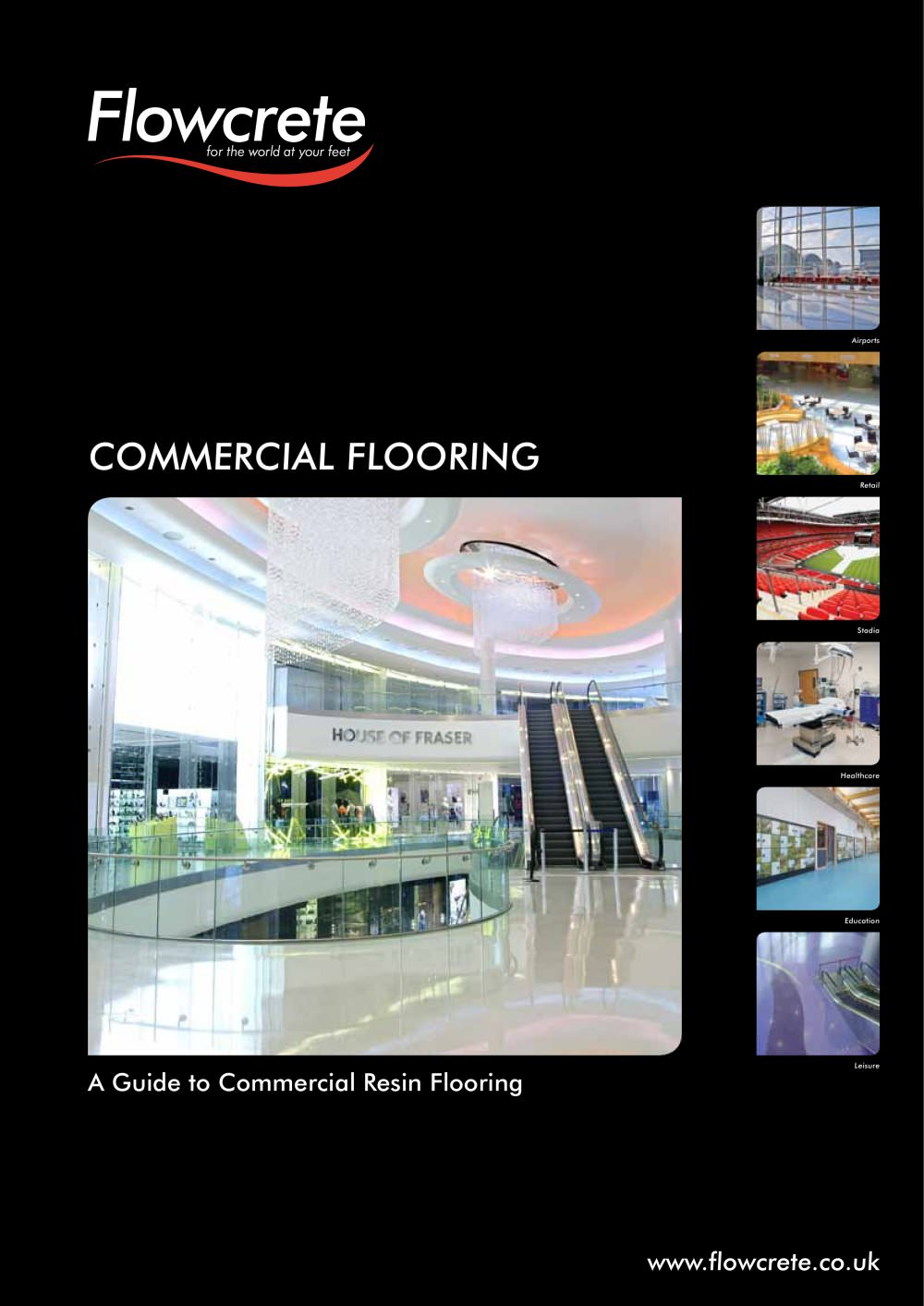 commercial flooring brochure flowcrete uk pdf catalogues