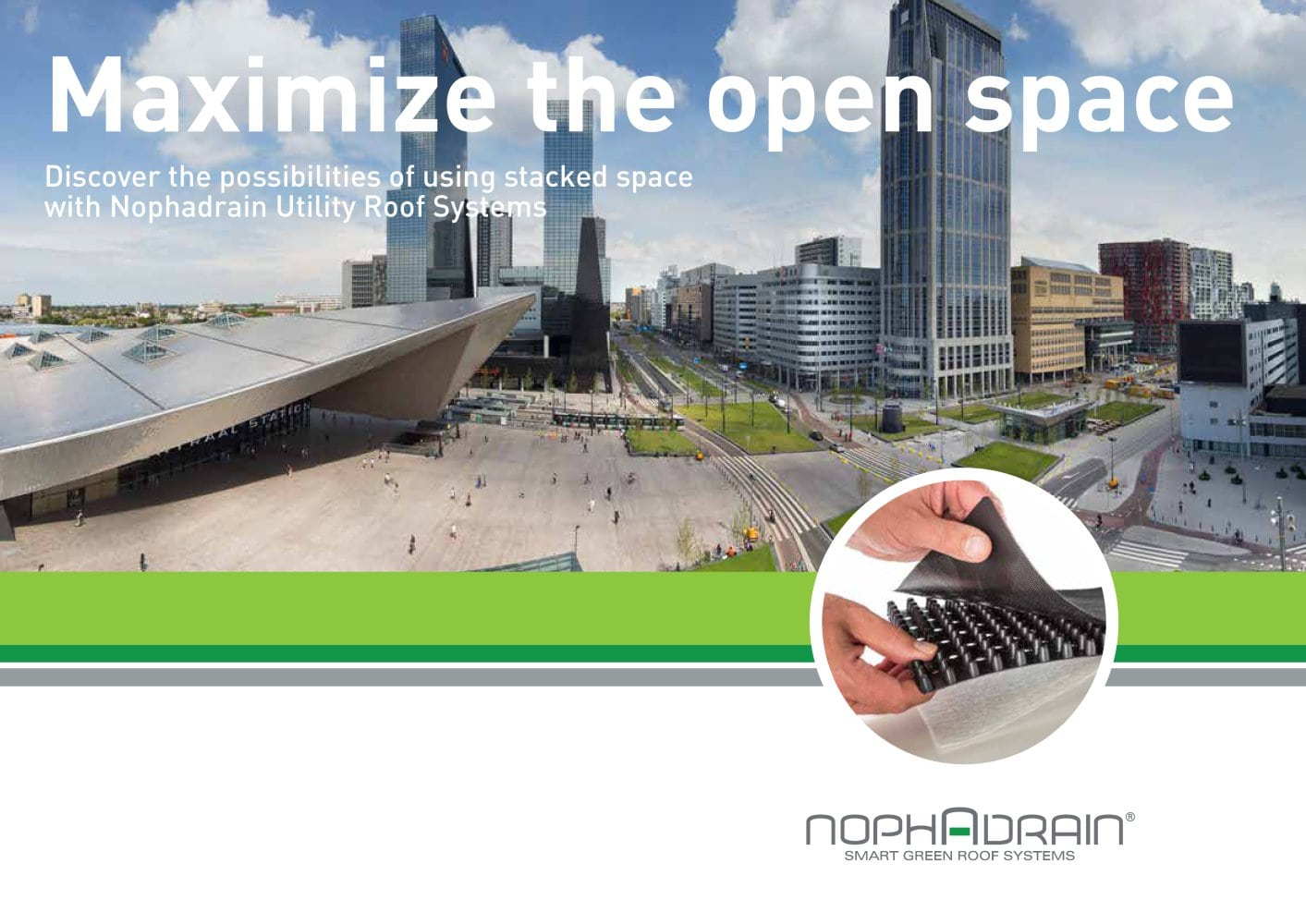 Nophadrain - Smart Green Roof Systems - Magazine cover