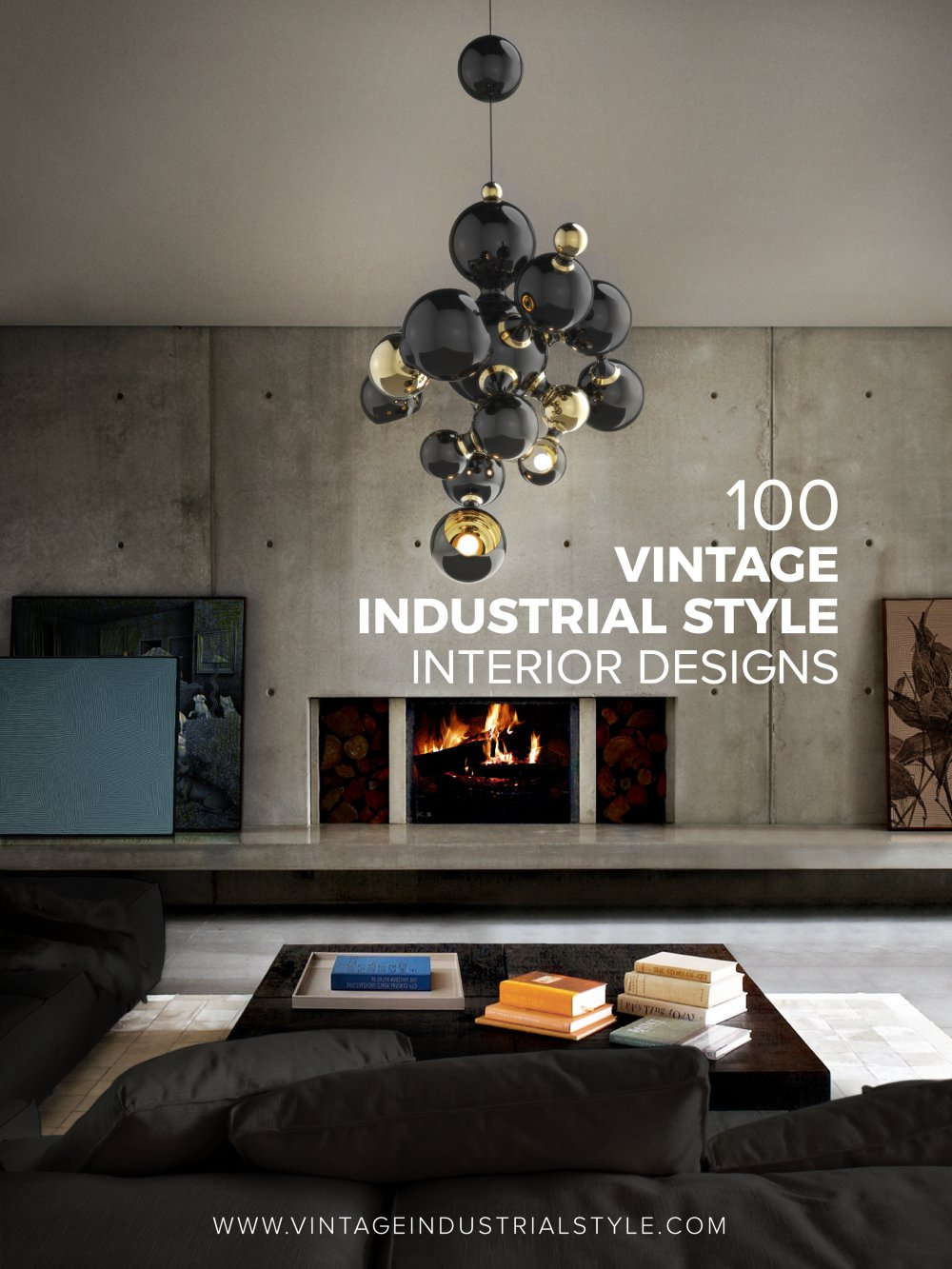 100 Vintage Industrial Style Interior Designs - 1 / 87 Pages & 100 Vintage Industrial Style Interior Designs - DelightFULL - PDF ...