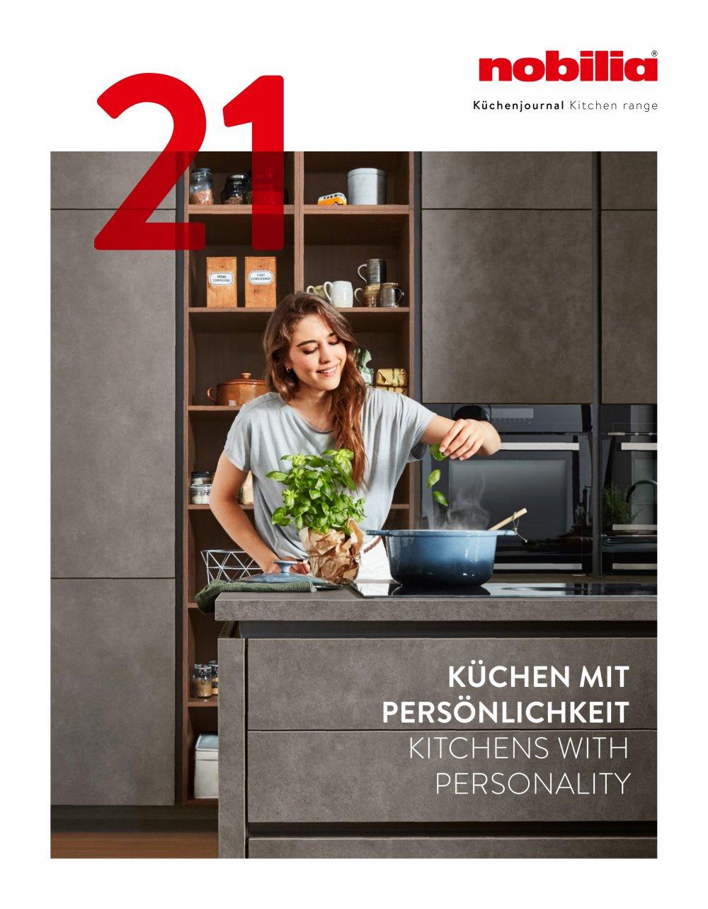 NOBILIA KITCHEN JOURNAL - nobilia - PDF Catalogues | Documentation ...