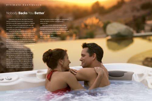 Hot Spring Spas brochure