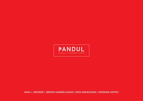 Pandul presentation catalogue