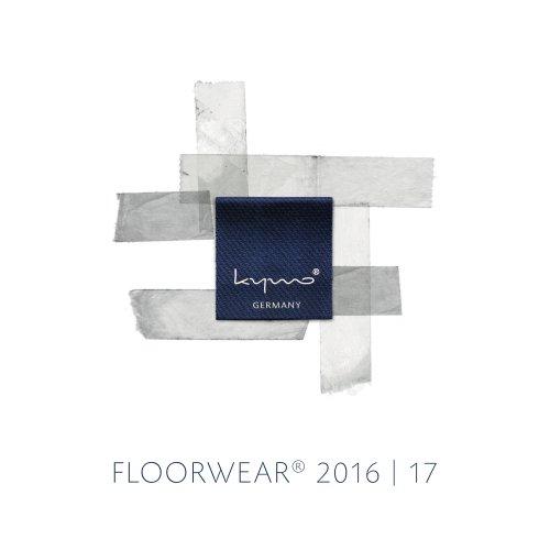 FLOORWEAR® 2016   17