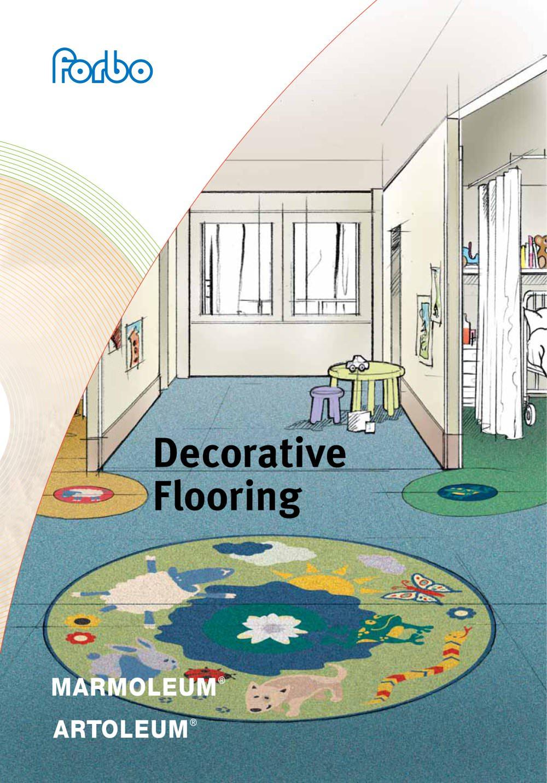 decorative linoleum flooring - forbo flooring systems - pdf