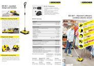EB 30/1 – Kärcher's efficient, cordless electric broom