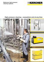 High-pressure cleaning � everywhere and at any time