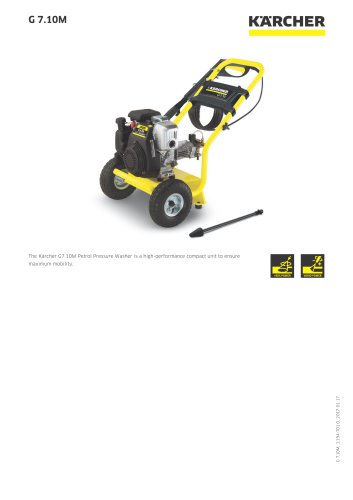 HIGH PRESSURE WASHER G 7.10M
