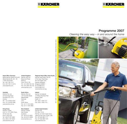 Programme 2007