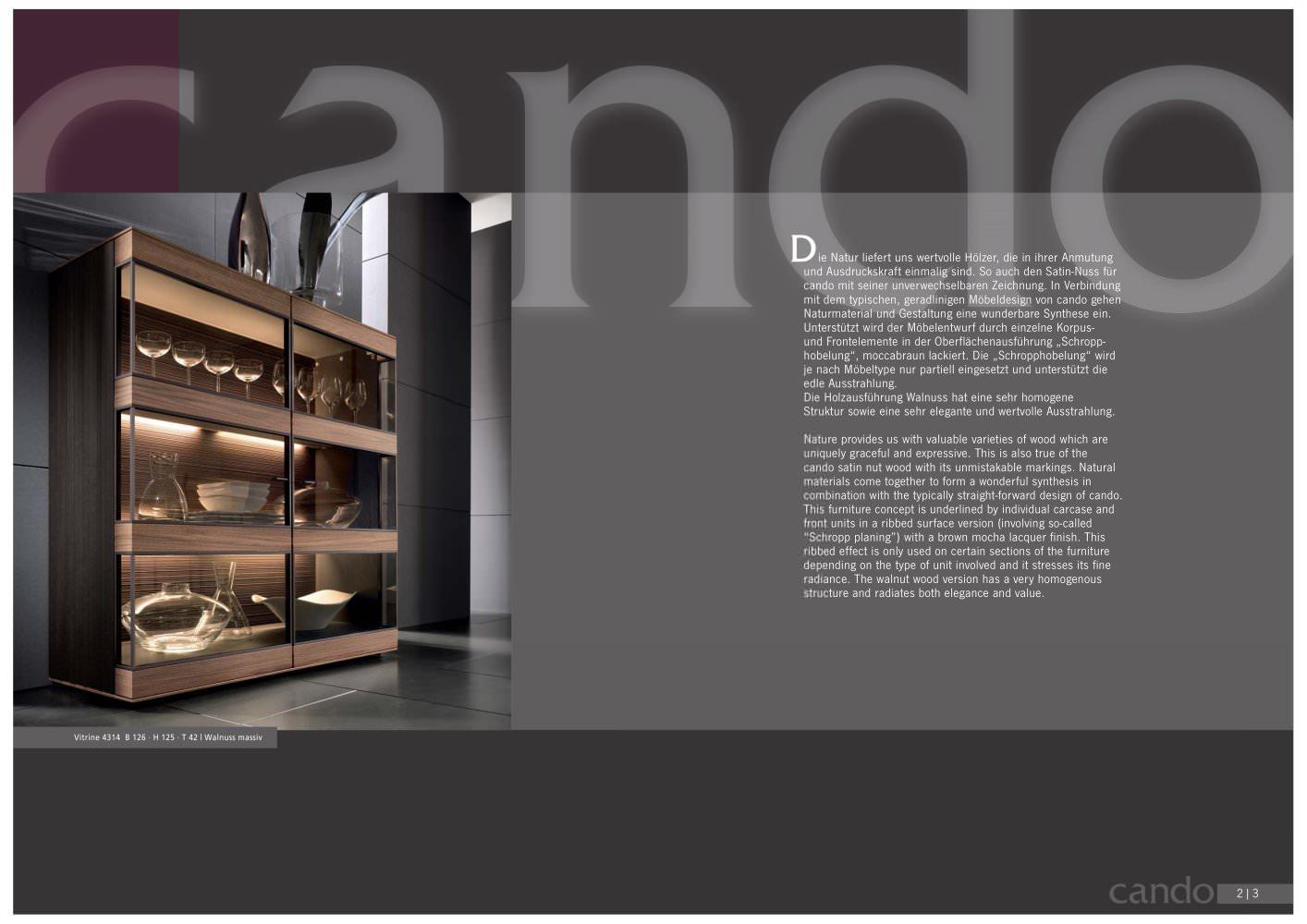 Cando - Hartmann Möbelwerke GmbH - PDF Catalogues | Documentation ...