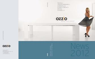 Catalogue NEWS 2012 OZZIO DESIGN