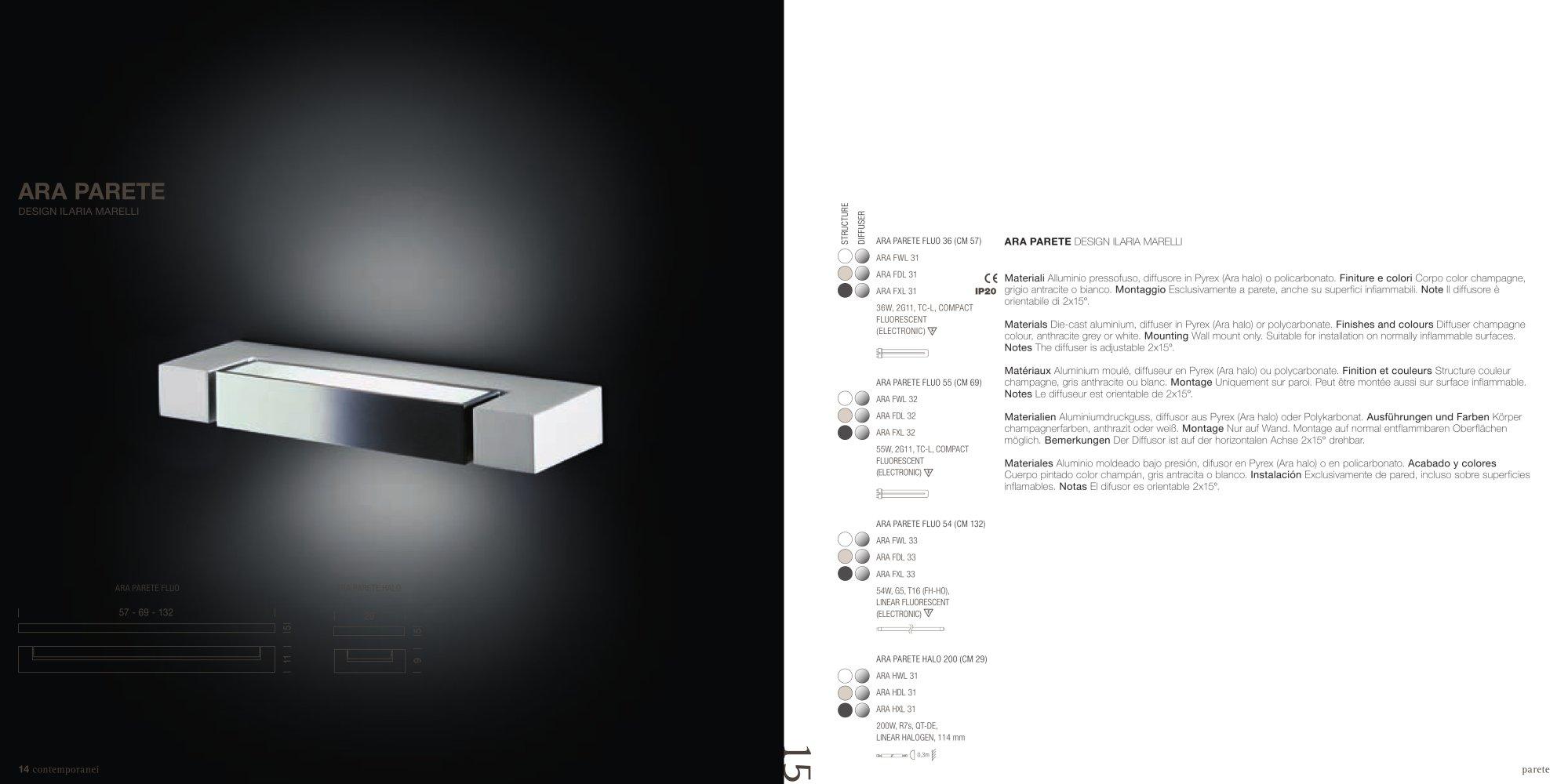 Lampade Da Specchio Per Bagno : Lampade da parete per specchio ...