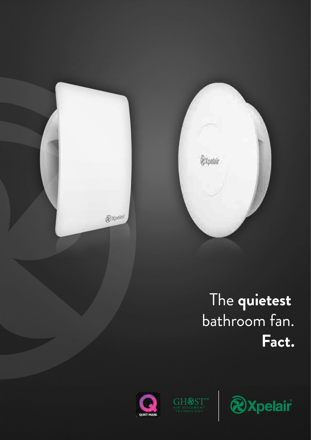 The Quietest Bathroom Fan Xpelair Pdf Catalogues Documentation Rectangular Duct Booster Wiring Diagram 1 7 Pages