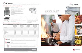 Cuisine Series HD Equipment