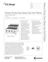 Heavy Duty Gas Step-Up Hot Plate