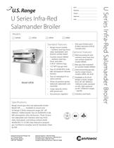 U Series Infra-Red Salamander Broiler
