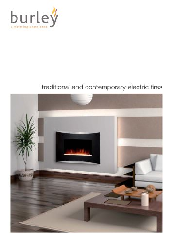 traditional and contemporary electric fires