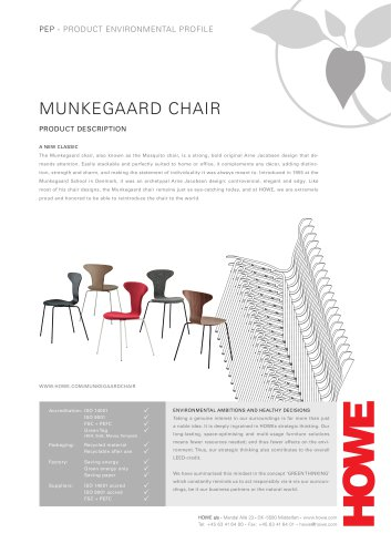 MUNKEGAARD CHAIR