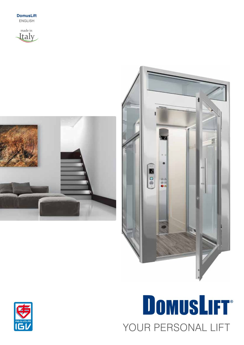 DomusLift - ENG - 1 / 32 Pages  sc 1 st  Catalogues Archiexpo & DomusLift - ENG - IGV Group - PDF Catalogues | Documentation ...