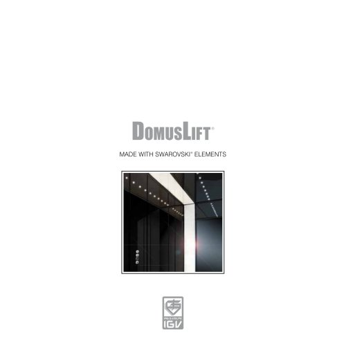 DomusLift MADE WITH SWAROVSKI ELEMENTS