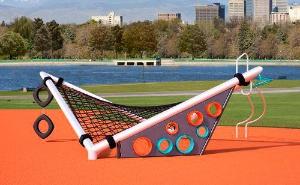Equipamento esportivo e para parques infantis