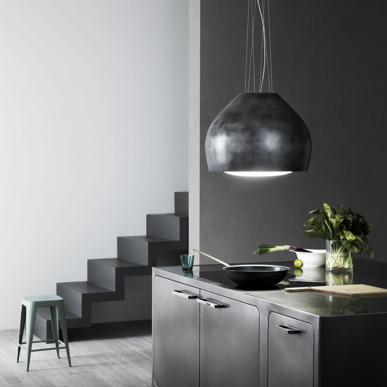 Coifa De Cozinha De Ilha Com Ilumina O Embutida Design Original