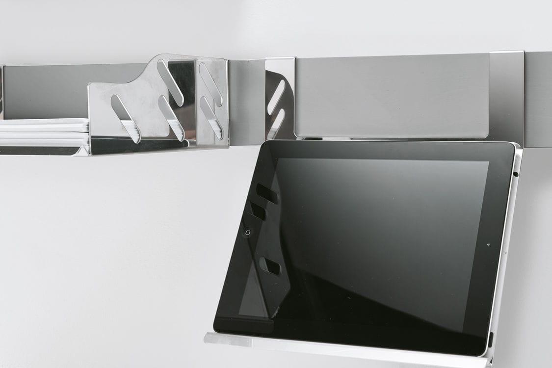 Boîte de rangement pour fourniture de bureau de fixação magnética
