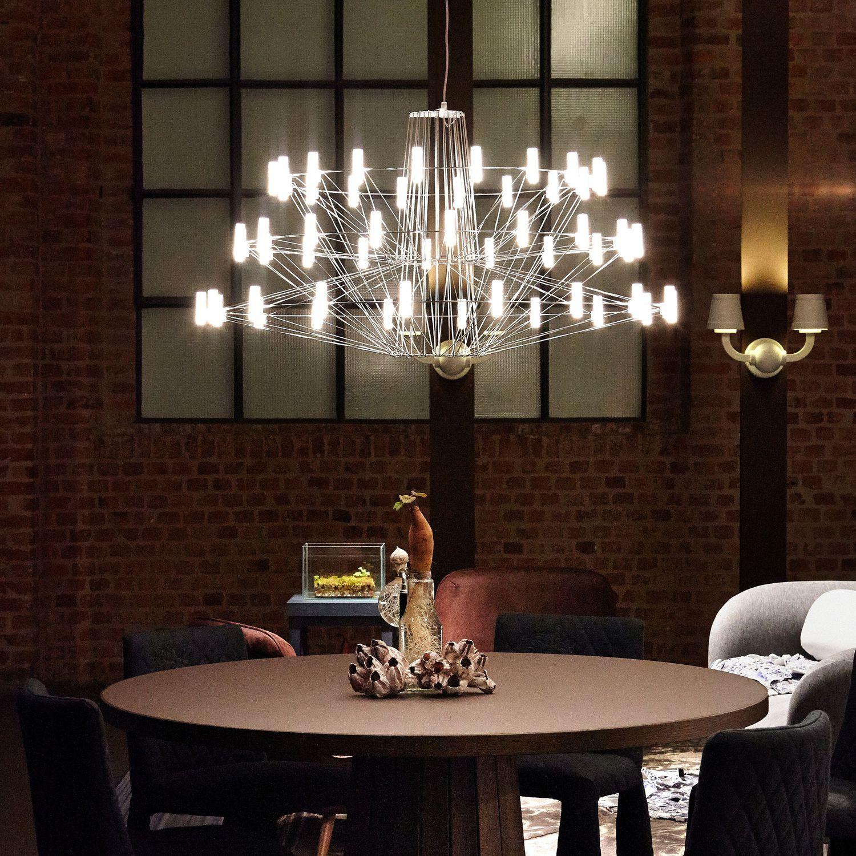 Lustre design original / em inox / em policarbonato / de LED ...