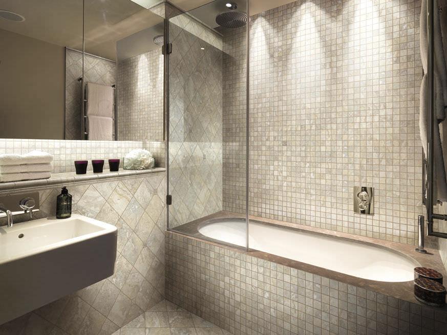 Mosaico para ambiente interno / para banheiro / de parede / em ...