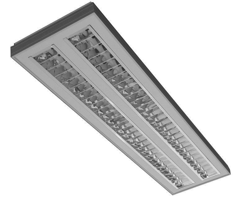 ... Luminária Técnica De Embutir No Teto / Suspensa / De LED / Para Lâmpada  Fluorescente