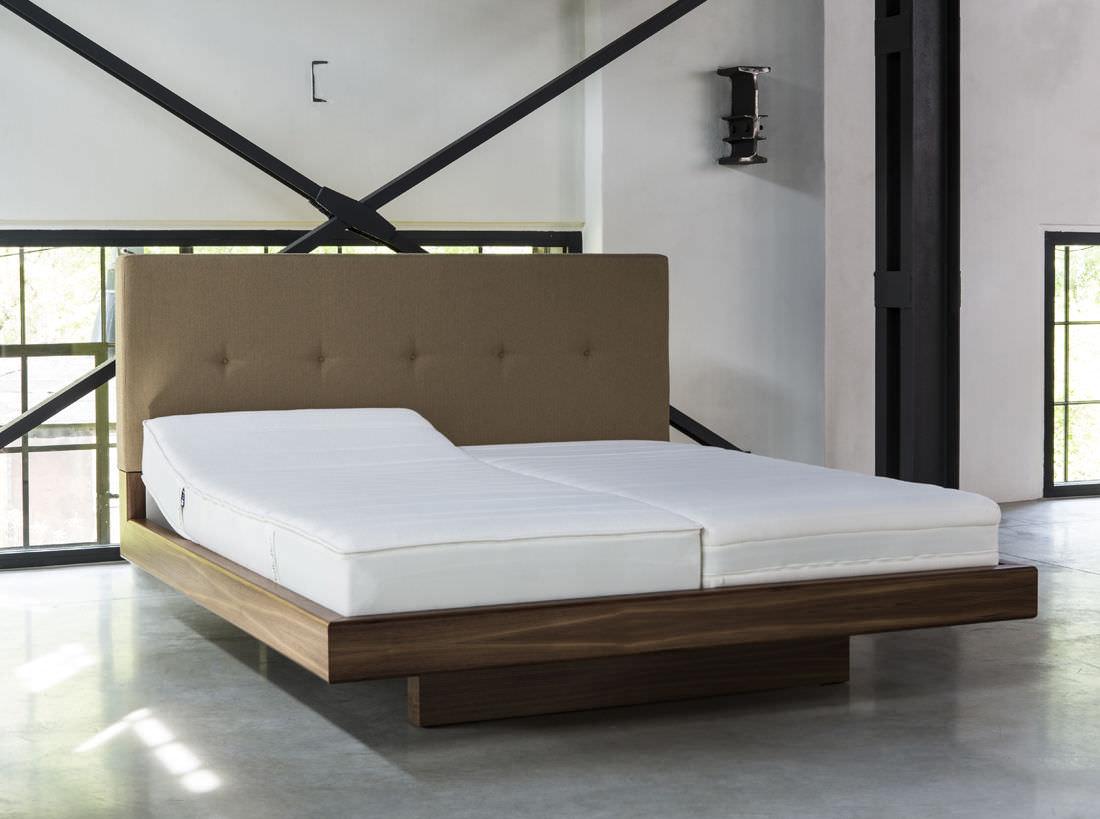 Camas En Madera Modernas Dormitorio En Madera Ideas De Camas  # Tauron Muebles Mercadolibre