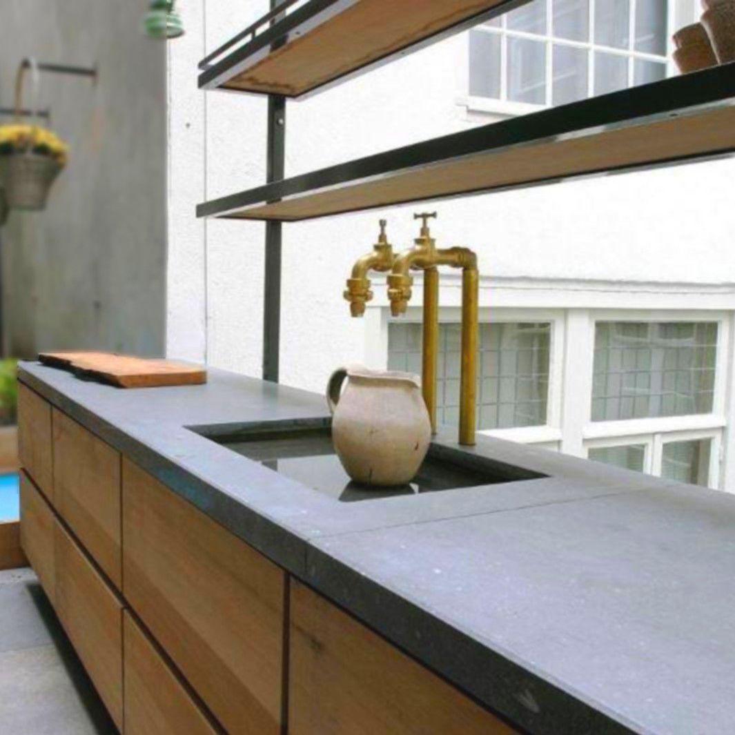 Tampo De Bancada Em Concreto Bfuhp Ductal Para Cozinha Balian