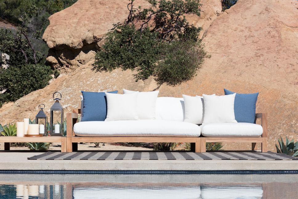 Resultado de imagem para sofá jardim lona