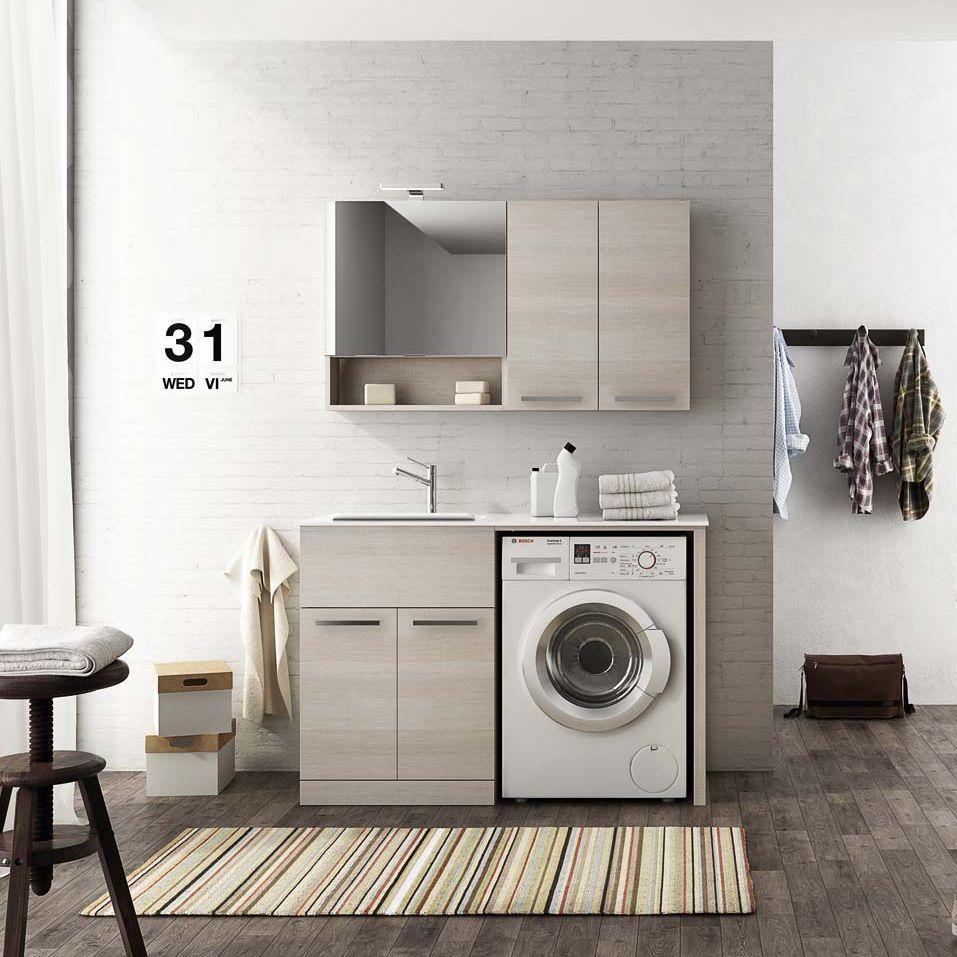 Móvel para lavanderia - LAUNDRY: 08 - LEGNOBAGNO