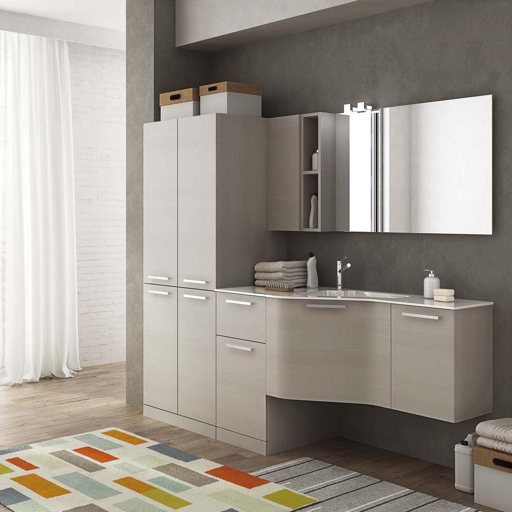 Móvel para lavanderia - LAUNDRY: 09 - LEGNOBAGNO