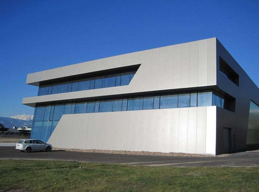 Famosos Revestimento de fachada metálico / liso / em painéis - FRIEL  KH19