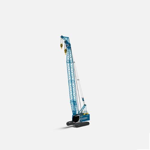guindaste hidráulico / de esteiras / para construção civil / de elevação