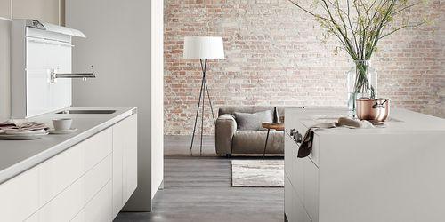 cozinha contemporânea / em madeira / em inox / em alumínio