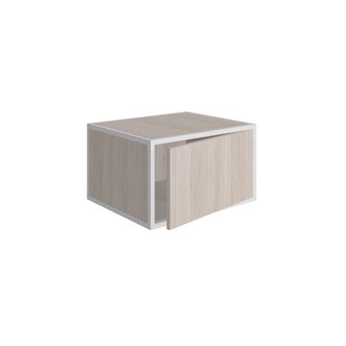 gabinete de banheiro de parede / em madeira / contemporâneo