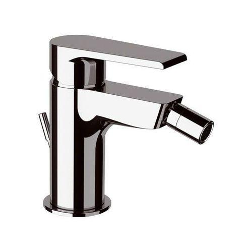 misturador monocomando para bidê / em metal cromado / 1 orifício / economizador de água