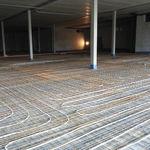 isolante acústico / para piso aquecido / em espuma / antivibração