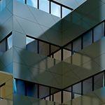fechamento de fachada em HPL / liso / texturado / fosco