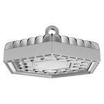 luminária técnica pendente / de LED / hexagonal / para ambiente externo