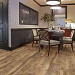 piso laminado em madeira / flutuante / efeito de madeira / residencial